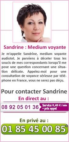 ... Sandrine   Medium voyante Je m appelle Sandrine, medium voyante  audiotel. 59da2797ec96